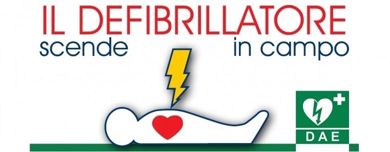 Locandina il defibrillatore scende in campo