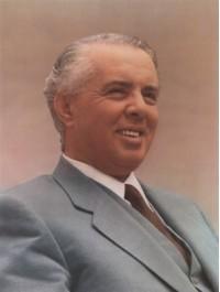 enver hoxha poster 1968